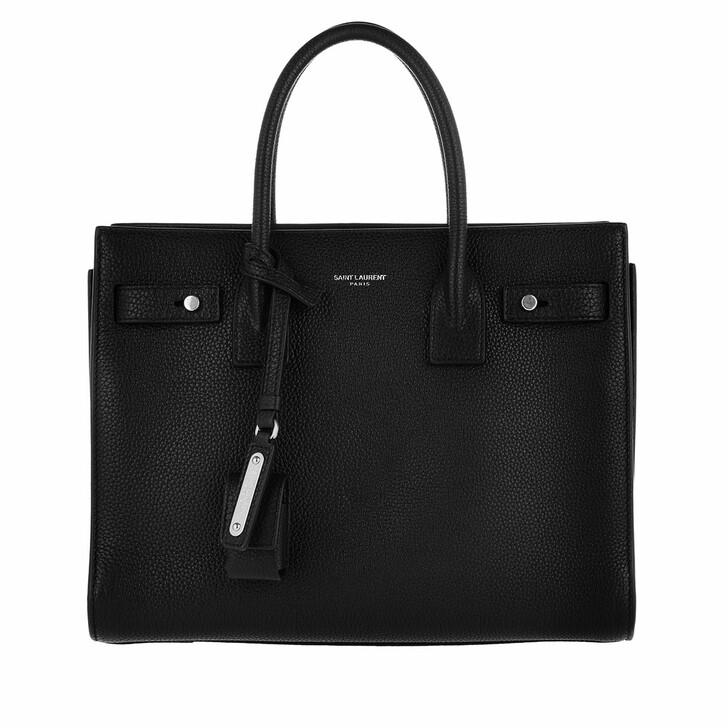 Handtasche, Saint Laurent, Sac de Jour Baby Souple Bag Nero
