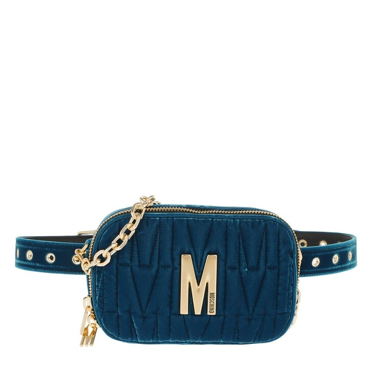 belt_bags, Moschino, Belt Bag Fantasia Blu