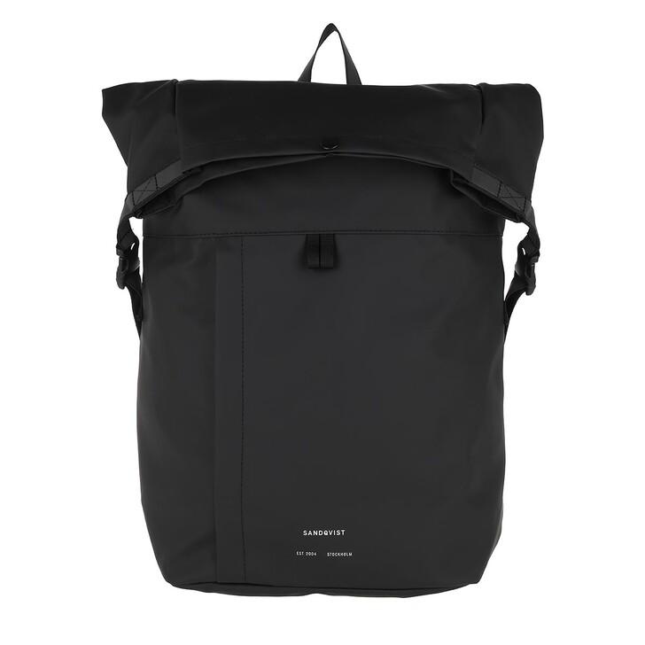 Reisetasche, Sandqvist, Konrad Backpack Black