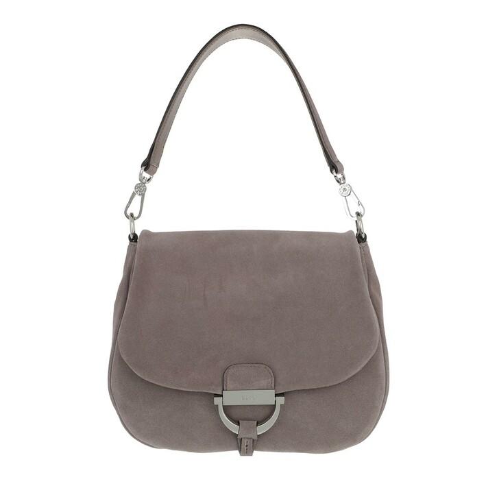 Handtasche, Abro, Shoulder Bag Temi Medium Taupe