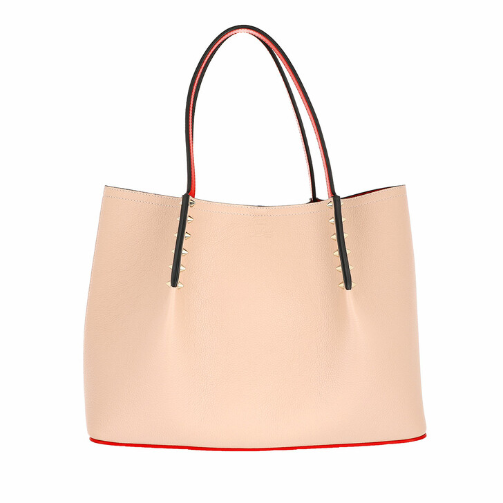 Handtasche, Christian Louboutin, Cabarock Small Tote Bag Leather Powder