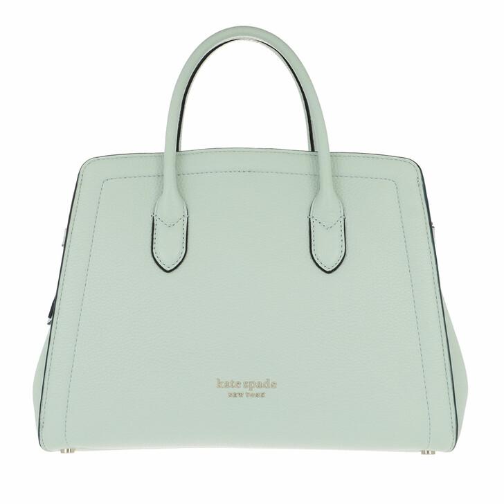 Handtasche, Kate Spade New York, Knott Medium Satchel  Crystal Blue
