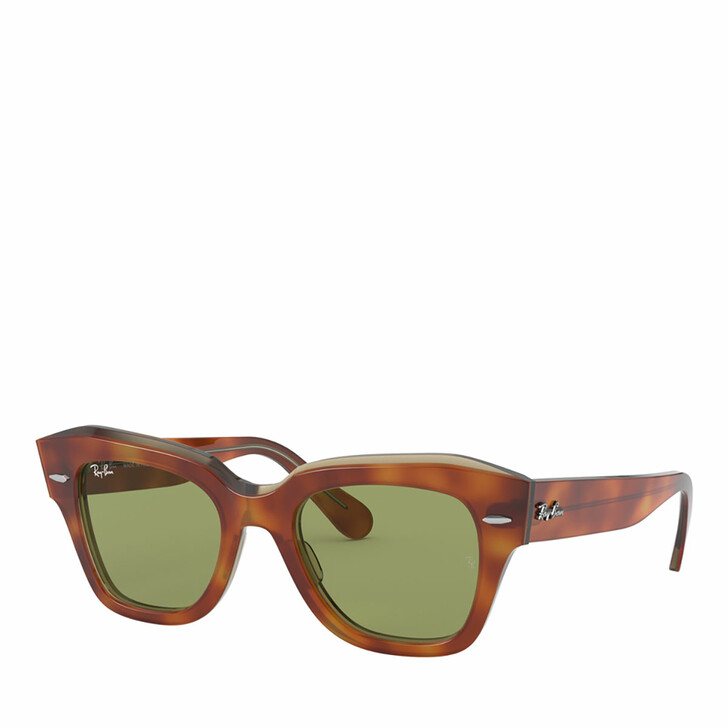 Sonnenbrille, Ray-Ban, 0RB2186 HAVANA ON TRANSPARENT BEIGE