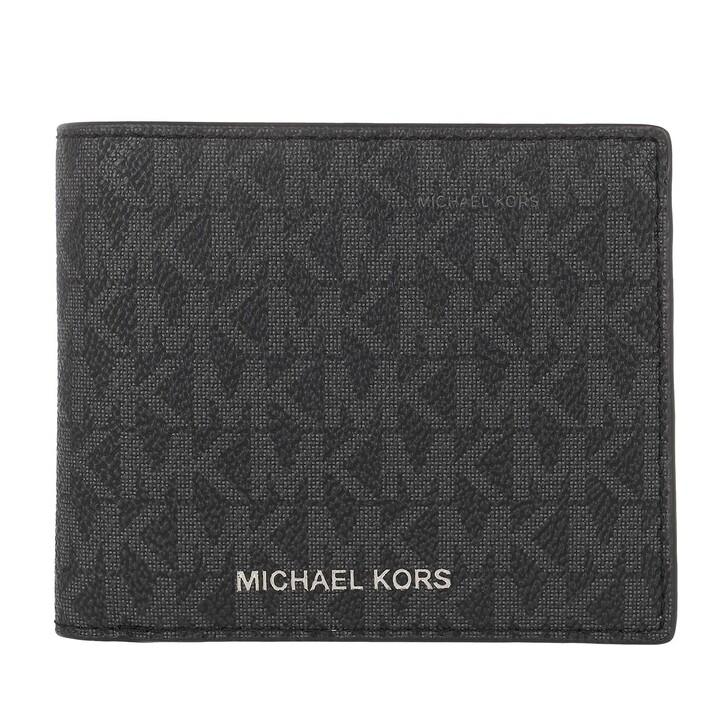 Geldbörse, MICHAEL Michael Kors, Billfold W Coin Pkt Black