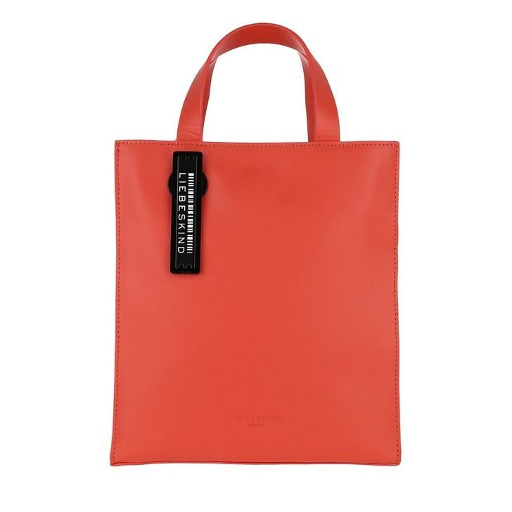 Handtasche, Liebeskind Berlin, Paper Bag Tote Small Poppy Red