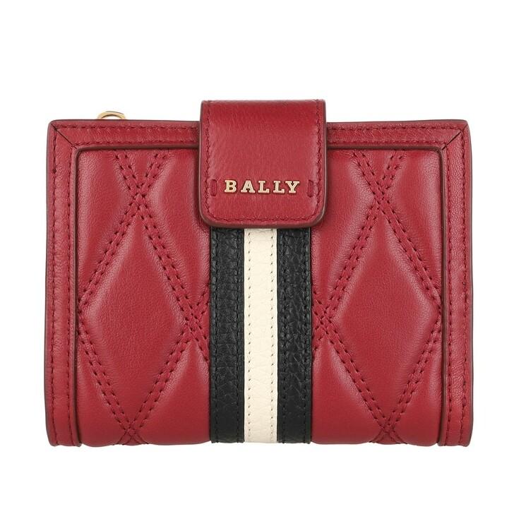 Geldbörse, Bally, Dassen Wallet Rosso