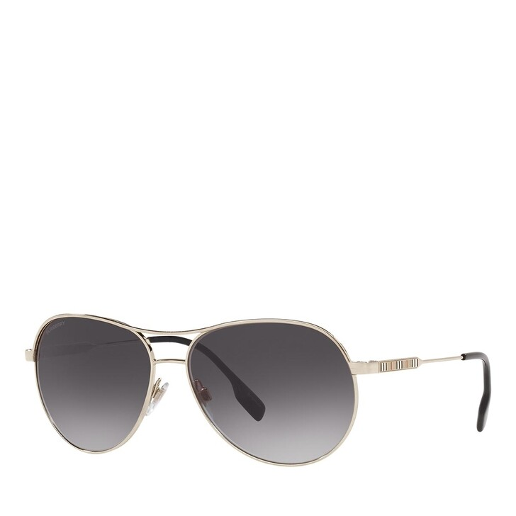 Sonnenbrille, Burberry, 0BE3122 SILVER/BEIGE