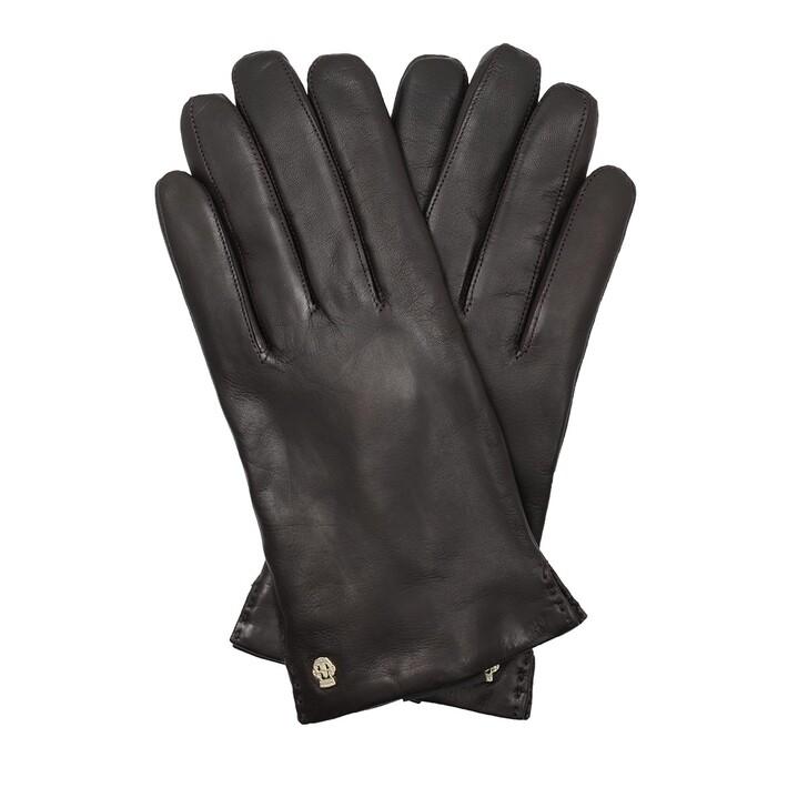 Handschuh, Roeckl, Women Classical Cashmere Short Gloves Mocca