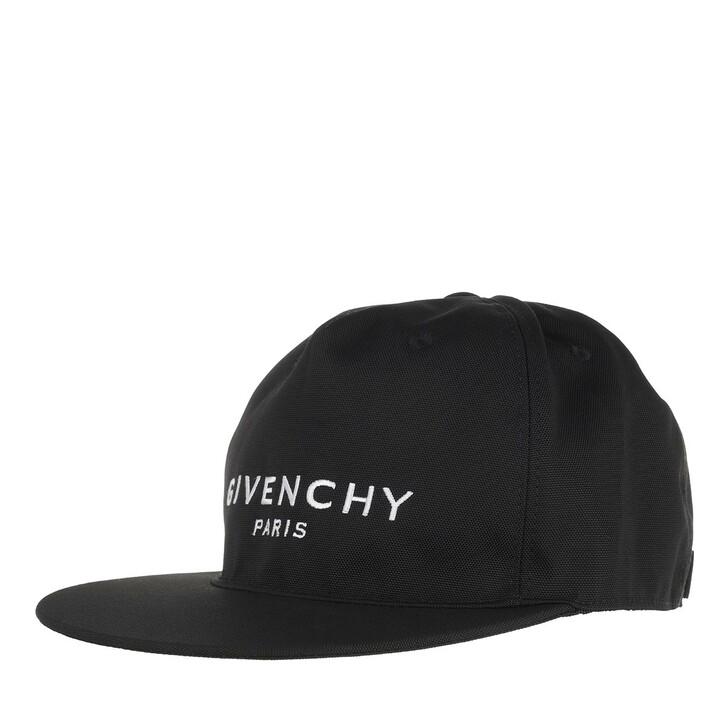 Mütze, Givenchy, Flat Brim Cap Nylon Black