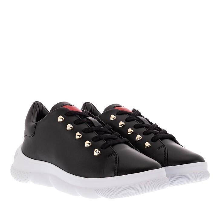 Schuh, Love Moschino, Sneaker Camp40 Vitello  Nero