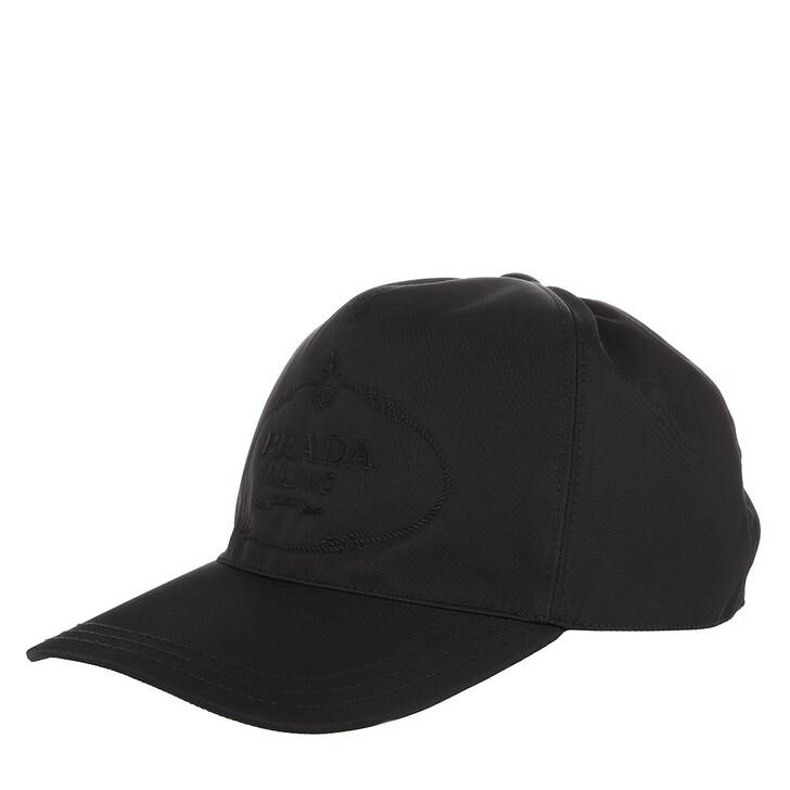 Mütze, Prada, Cap Black On Black
