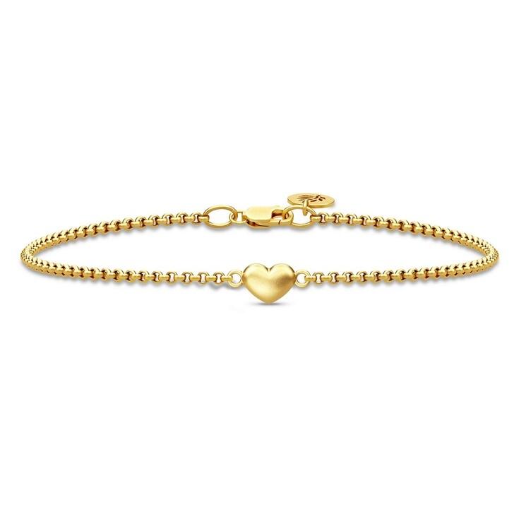 bracelets, Julie Sandlau, Love Bracelet Gold