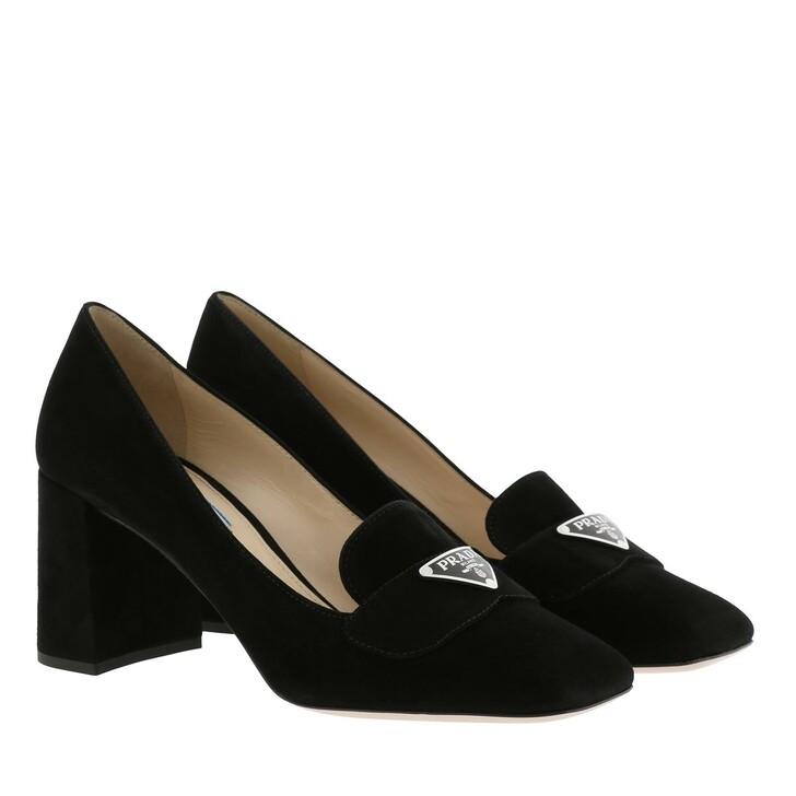 Schuh, Prada, High Heels Leather Black