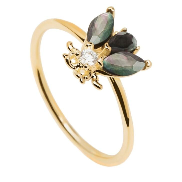 Ring, PDPAOLA, Ring ZAZA Yellow Gold