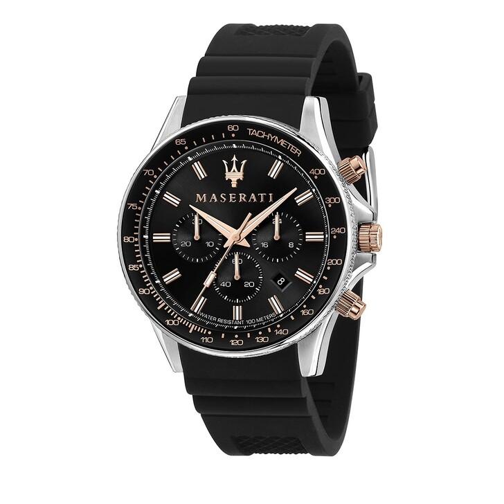 Uhr, Maserati, Sfida 44mm black