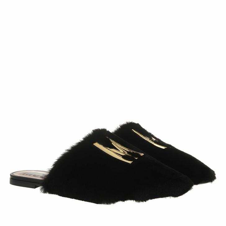shoes, Moschino, Scarpad Em Mh63/5 Soft Pl  Nero