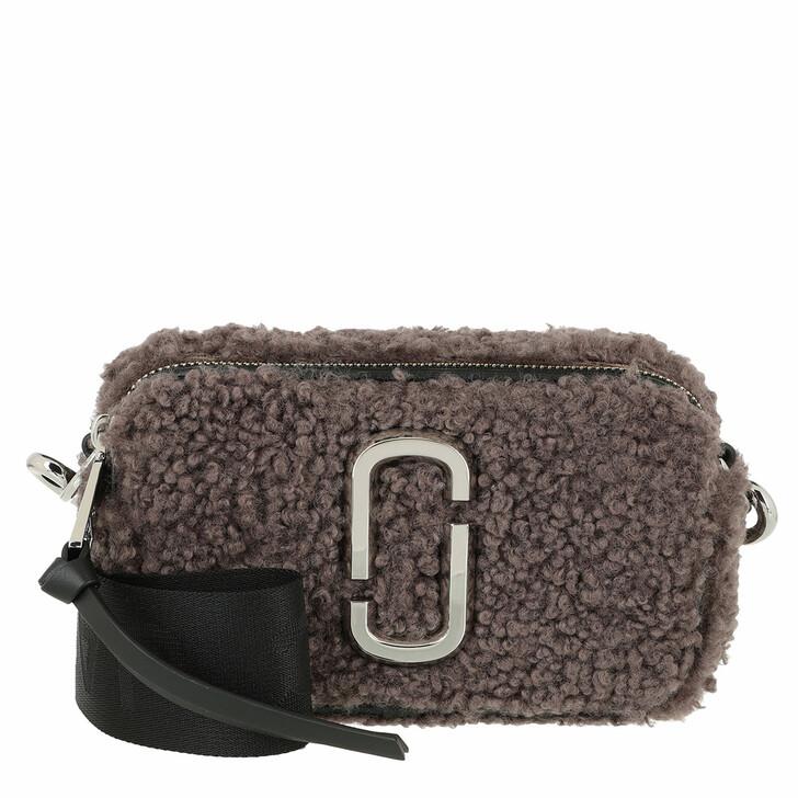 bags, Marc Jacobs, The Snapshot Teddy Crossbody Bag Black