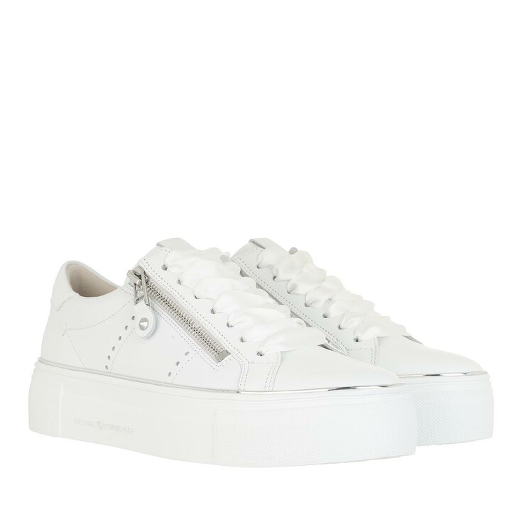 Schuh, Kennel & Schmenger, Big Sneakers Calf Leather bianco Sw-si
