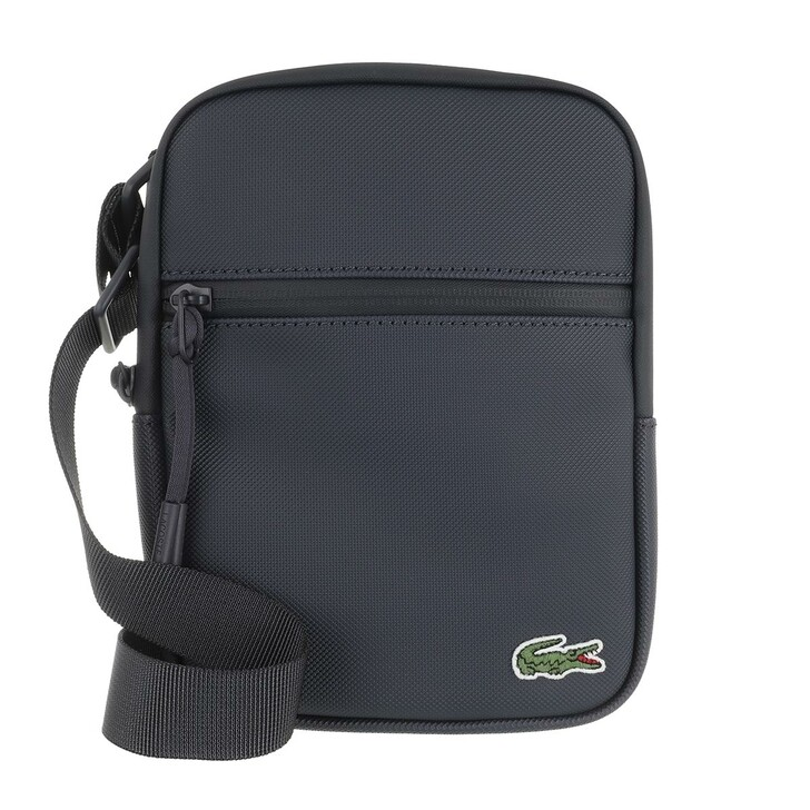 Handtasche, Lacoste, Lcst S Flat Crossover Bag Eclipse