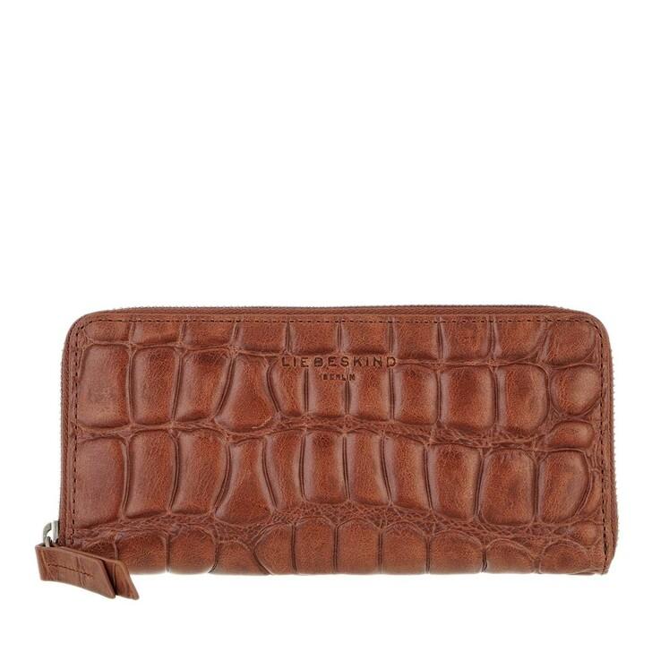 wallets, Liebeskind Berlin, Gigi Croco Wallet New Bourbon