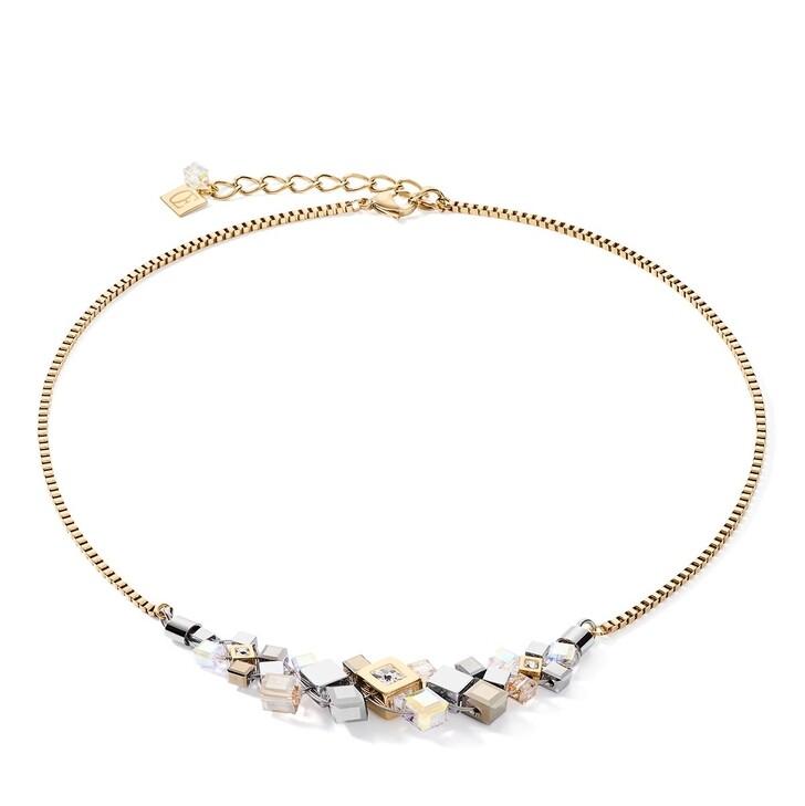 necklaces, COEUR DE LION, Necklace Gold-Silver