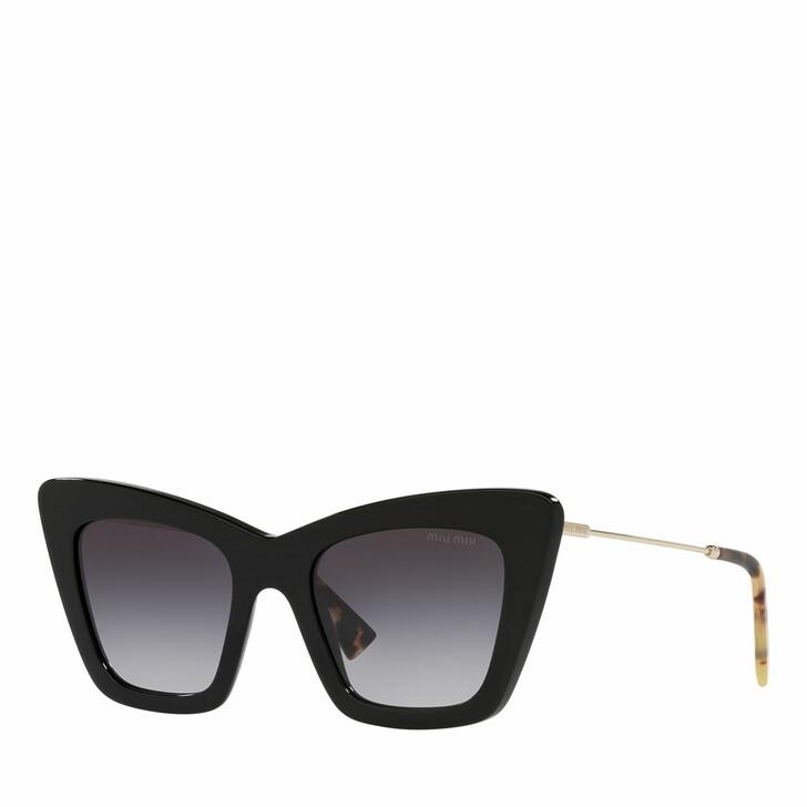 sunglasses, Miu Miu, Woman Sunglasses 0MU 01WS Black