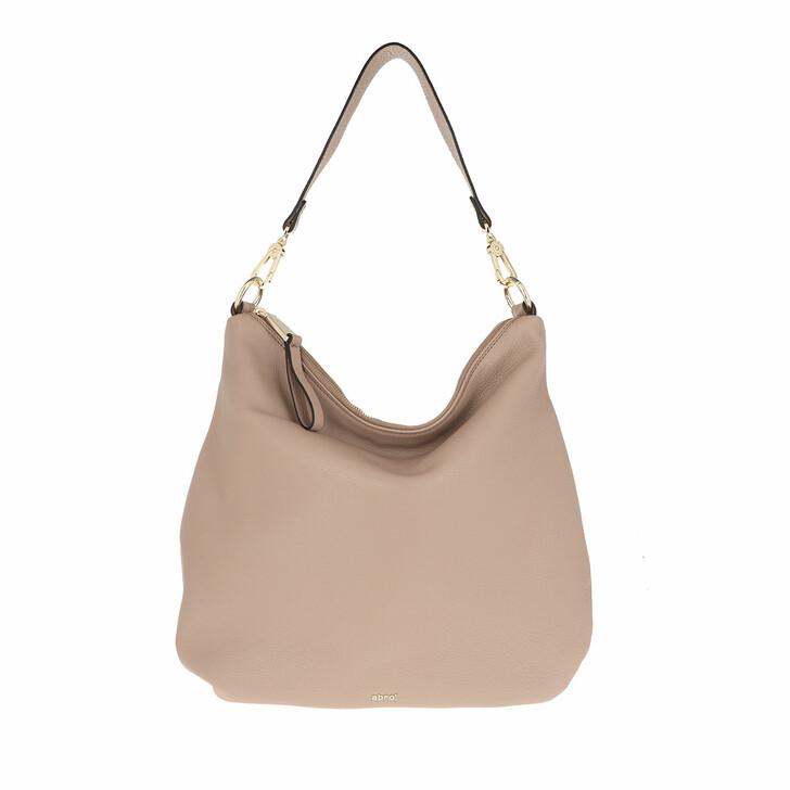 Handtasche, Abro, Hobo Bag Erna Small Coconut