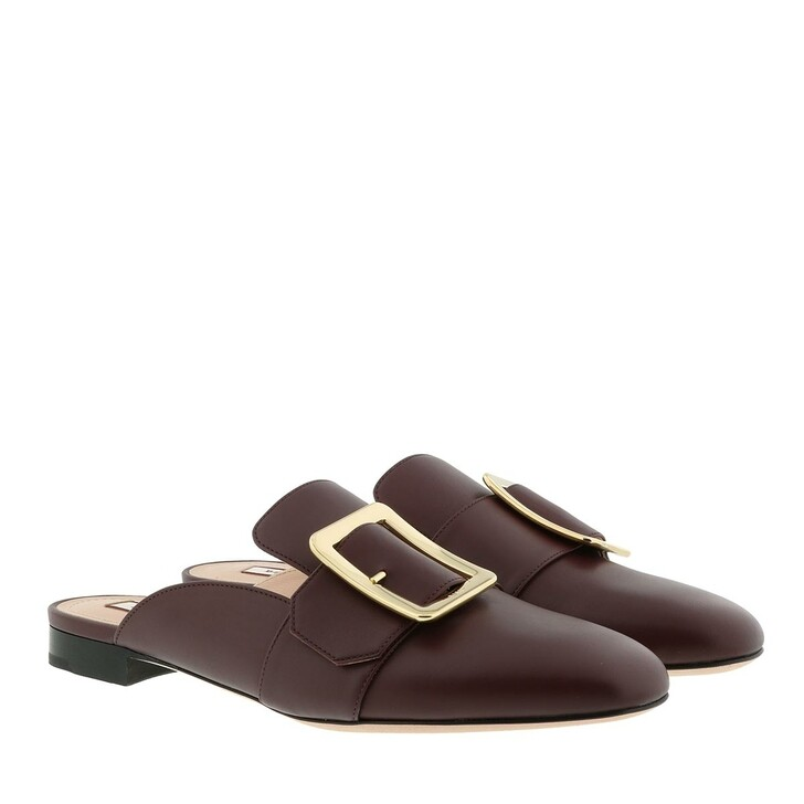 Schuh, Bally, Janesse Calf Slipper Shiraz