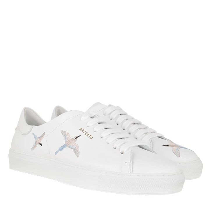 Schuh, Axel Arigato, Clean 90 Bird Sneakers White/Blue/Pink