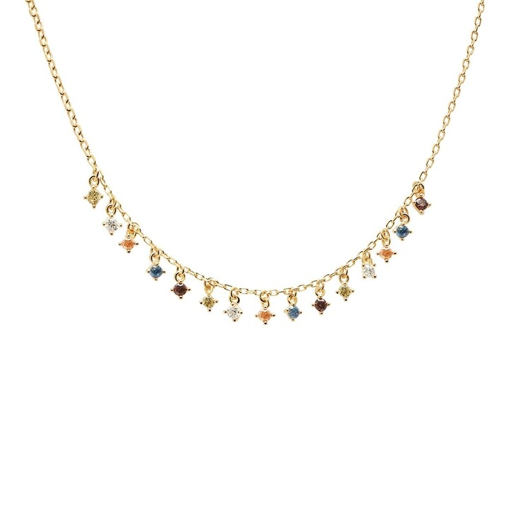 necklaces, PDPAOLA, Necklace Willow Yellow Gold