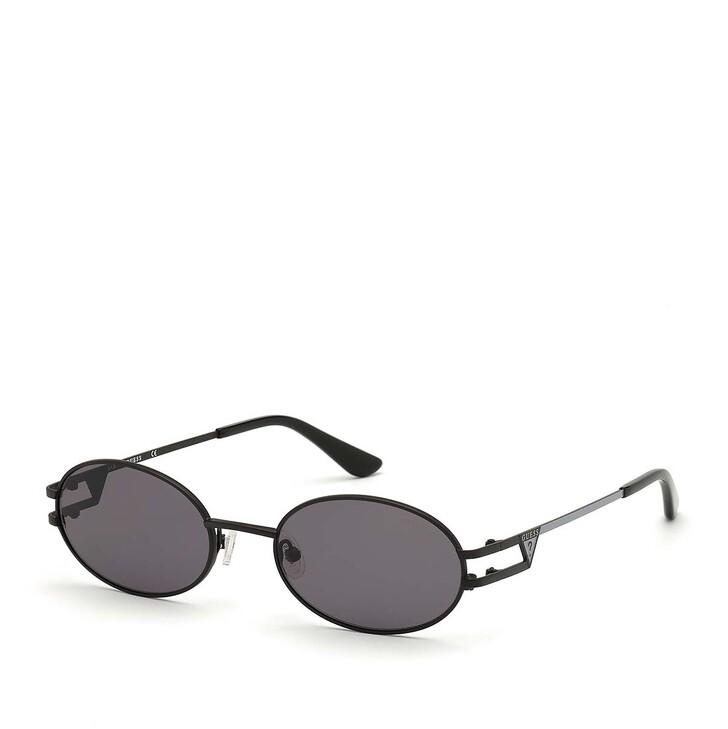 Sonnenbrille, Guess, Women Sunglasses Metal GU7659 Black/Grey