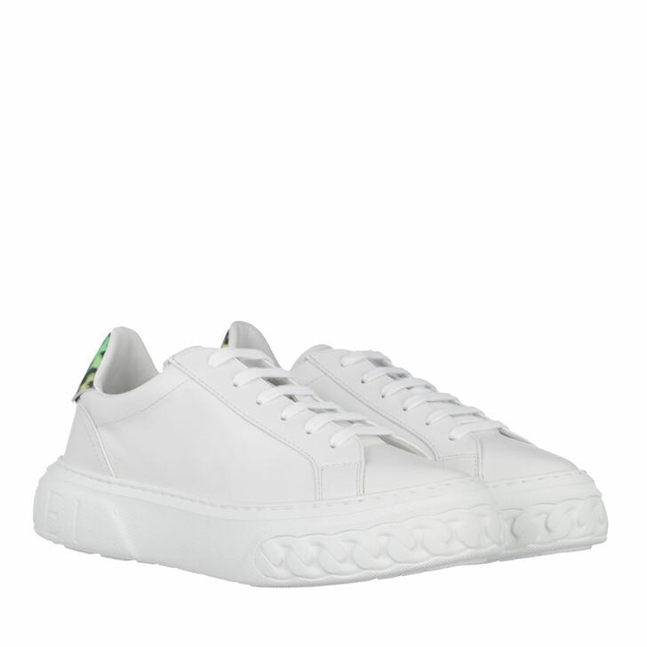 Schuh, Casadei, SNEAKER SALENTO+LEOPOP WHITE