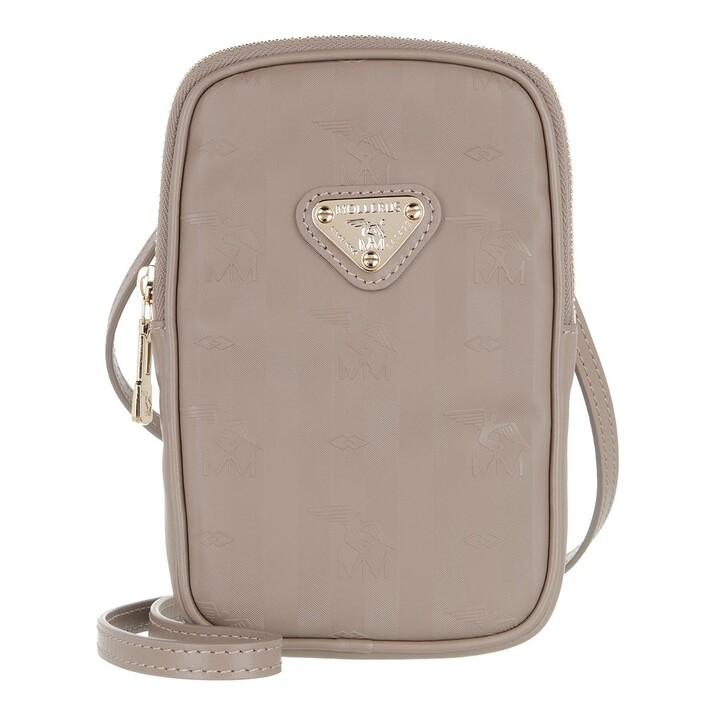 Smartphone/Tablet case (Case), Maison Mollerus, Wildhorn Smartphone Pouch Taupe/Gold