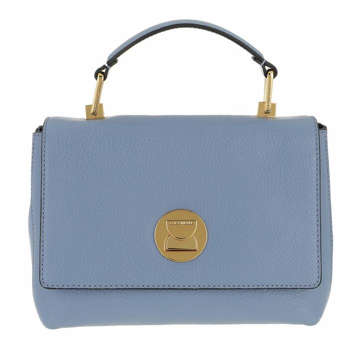 Handtasche, Coccinelle, Liya Satchel Bag Pacific Blue/Ink