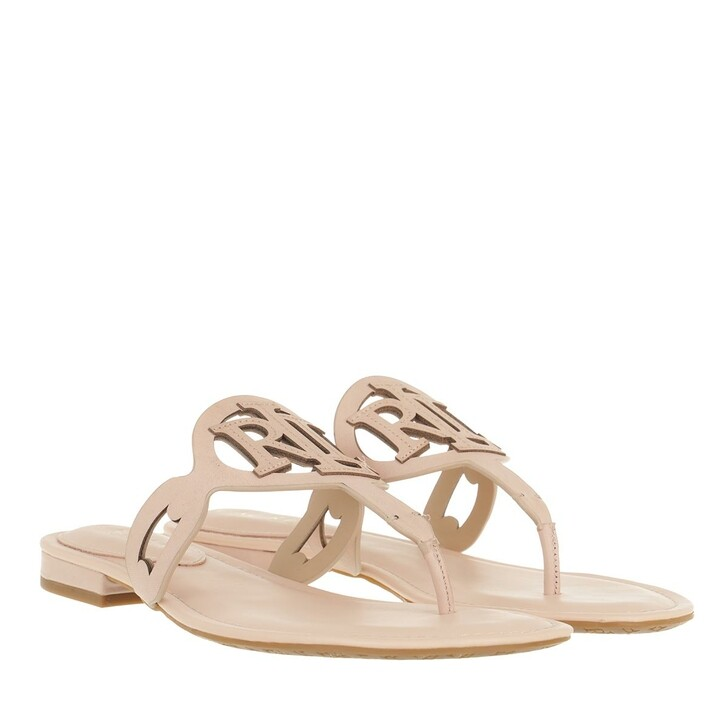 Schuh, Lauren Ralph Lauren, Audrie Sandals Flat Sandal Ballet Pink