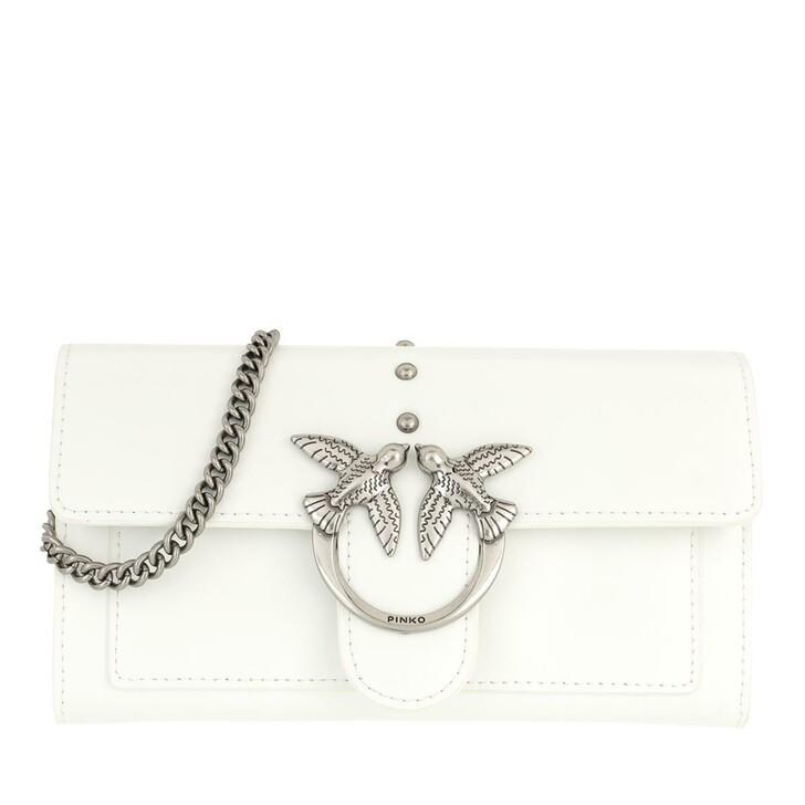 wallets, Pinko, Love Wallet Simply 6 C Vit.Set Bianco  Bianco