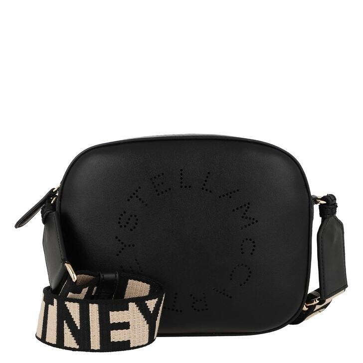 bags, Stella McCartney, Mini Camera Bag Black