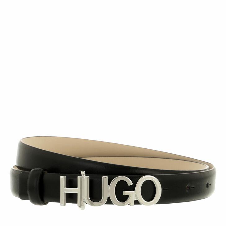 Gürtel, Hugo, Zula Belt 2 cm  Black