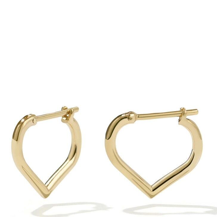 Ohrring, Meadowlark, Love Hoops Small Gold Plated
