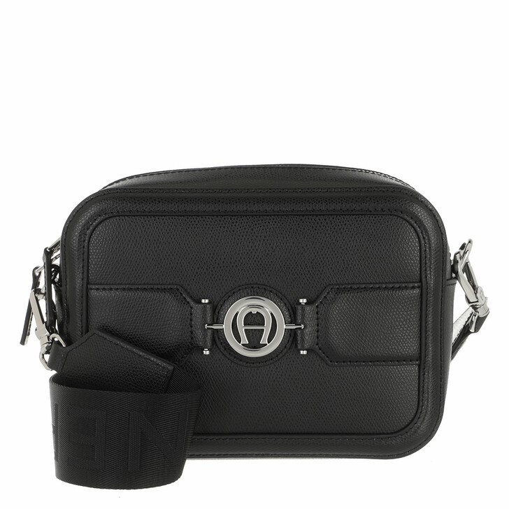 Handtasche, AIGNER, Handle Bag Black