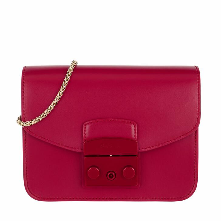 bags, Furla, Metropolis Mini Crossbody - Vitello New Calf Ruby