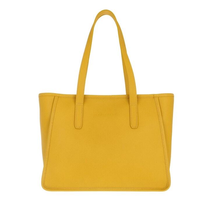 bags, Longchamp, Le Foulonné Shoulder Bag  Mimosa Yellow