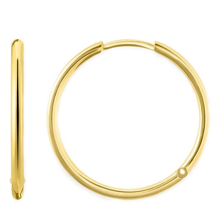 earrings, Thomas Sabo, Hoop Earrings Yellow Gold
