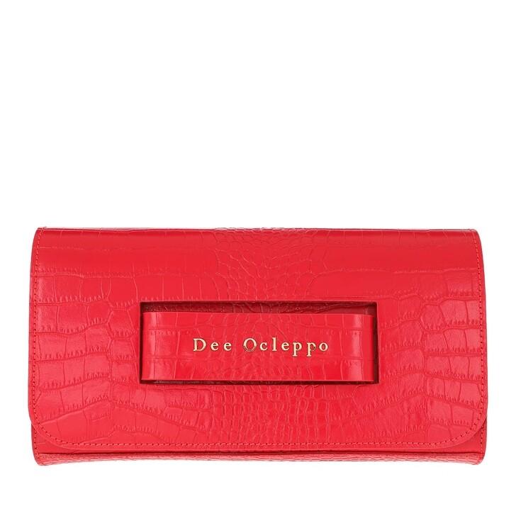 Handtasche, Dee Ocleppo, Dee Hand Clutch Red