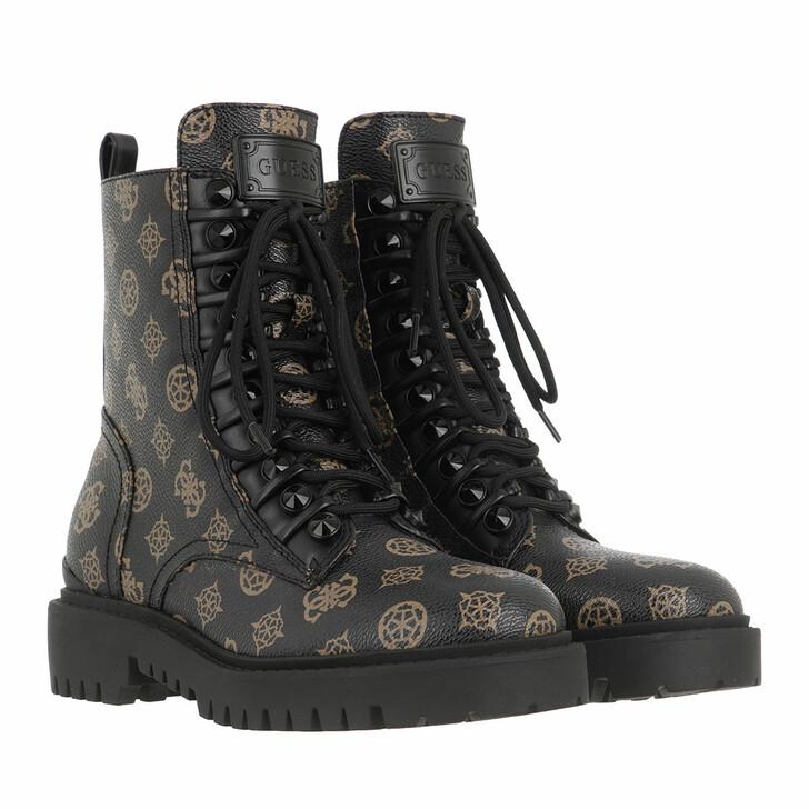 Schuh, Guess, Oxana Footwear Dress Bootie Dark Brown