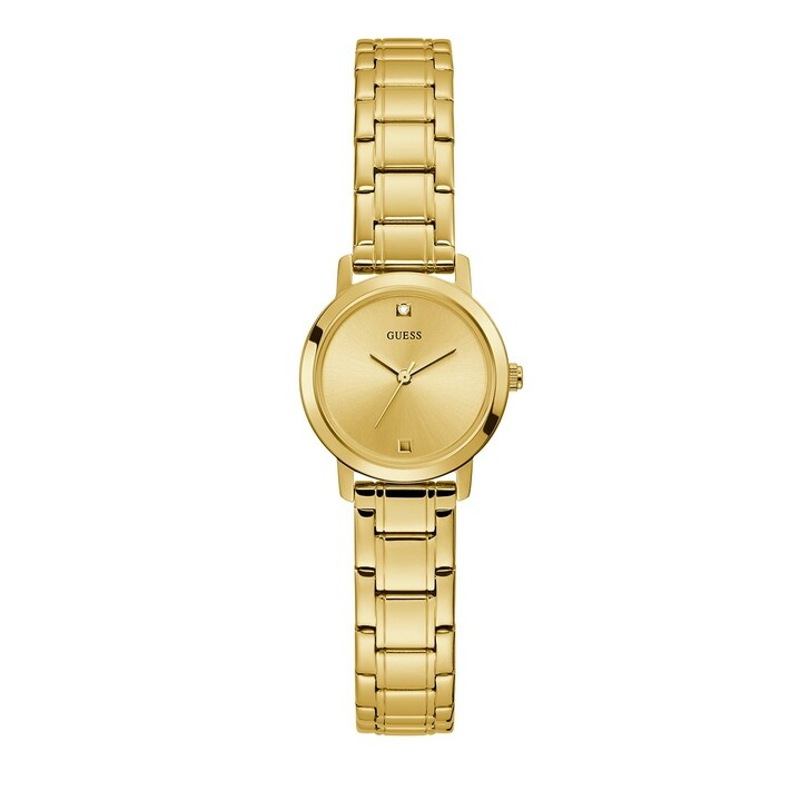 Uhr, Guess, Ladies Dress Stainless Steel Watch Gold Tone