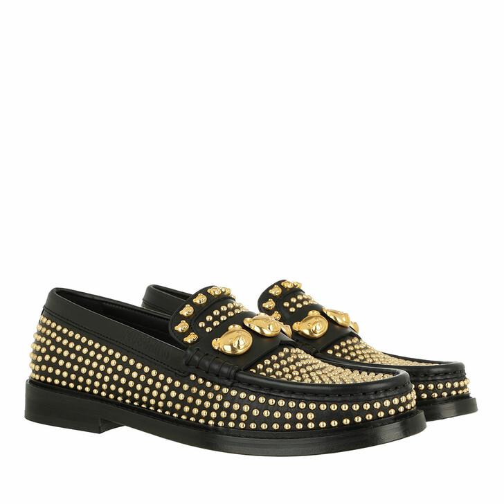 shoes, Moschino, Scarpad College25 Vitello  Nero