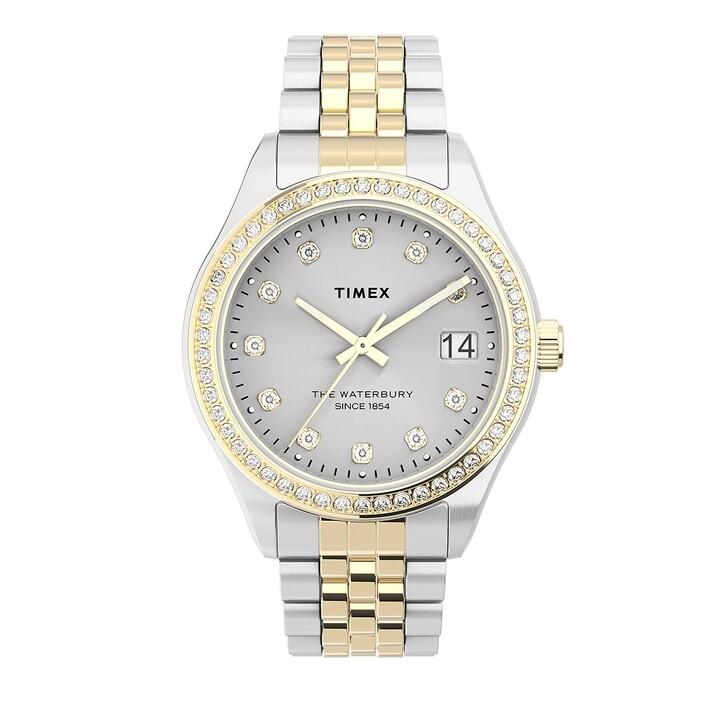 Uhr, Timex, Waterbury Legacy Crystal 34mm Two-Tone