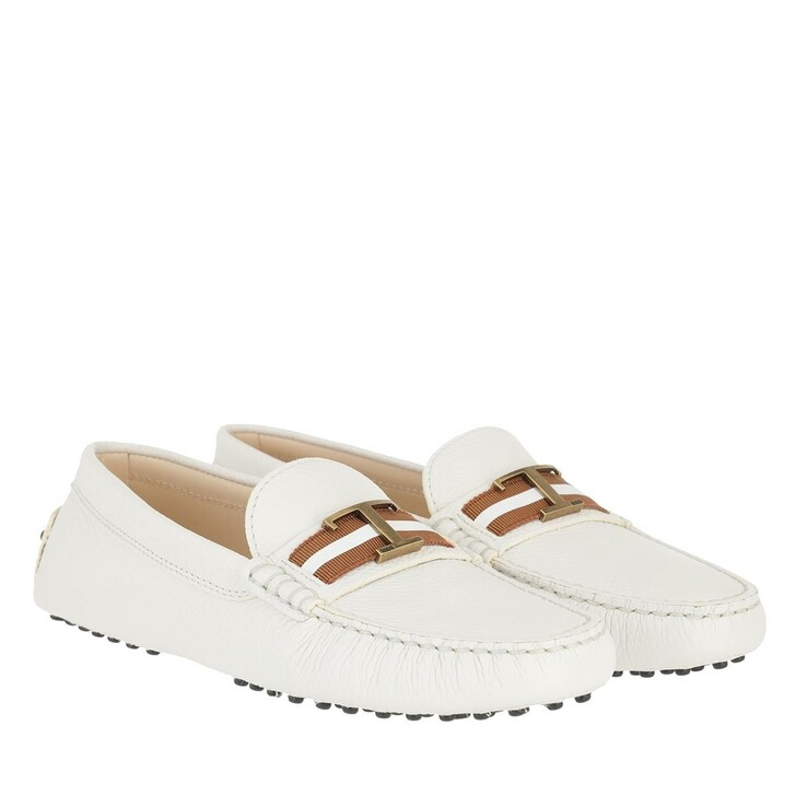 Schuh, Tod's, Gommino Loafer Lime White