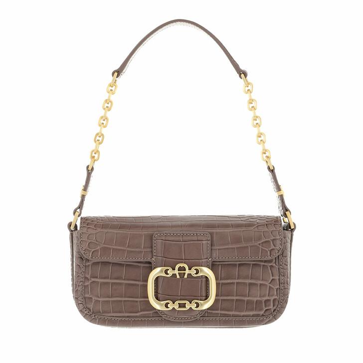 bags, AIGNER, Celia Mini Bag Mushroom Brown